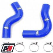 Samco Top & Bottom Blue Radiator Hose Kit Subaru Impreza GC8 WRX STI 92-00
